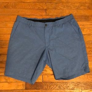 {Under Armour} Heat Gear Loose Fit Shorts Blue 42